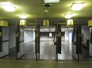 Shooting range - An indoor shooting range