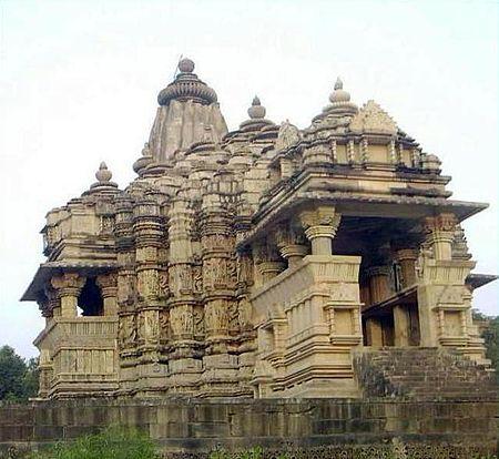 Ancient temple of Shree Chitraguptajee in Khajuraho