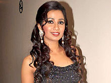 Shreya Ghoshal - Wikipedia