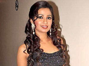 Shreya Ghoshal - Ghoshal on the sets of X Factor India, 2011