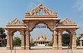 Shri Swaminarayan Mandir gate.jpg