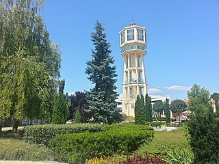 Siófok Town in Southern Transdanubia, Hungary