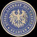 Siegelmarke K. Landrat des Kreises Geldern W0391576.jpg