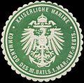 Siegelmarke K. Marine Kommando des III. Batls. 1. Marine-Infanterie-Regiments W0346728.jpg