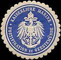 Siegelmarke Kaiserliche Marine - Fortifikation zu Geestemünde W0239774.jpg