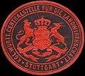 Siegelmarke Kgl. Württ. Centralstelle für die Landwirthschaft Stuttgart W0390487.jpg