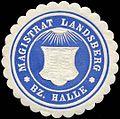 Siegelmarke Magistrat Landsberg - Bezirk Halle W0212580.jpg