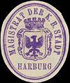 Siegelmarke Magistrat der K.B. Stadt Harburg W0392514.jpg