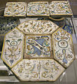 Siena, mattonele pavimentali forse da palazzo marsili, 1600-20 ca. 02.JPG