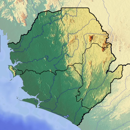 Sierra Leone location map Topographic.png