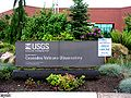 Sign for Cascades Volcano Observatory on Open day 2005 (USGS).jpg