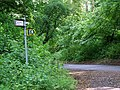Sign for Restricted Byway - geograph.org.uk - 846204.jpg