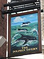 Sign for the Dolphin Tavern, Red Lion Street, WC1 - geograph.org.uk - 1274522.jpg