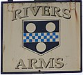 Sign for the Rivers Arms - geograph.org.uk - 1038284.jpg