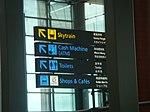 Signposts in Singapore Changi Airport.jpg