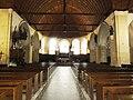 Sillé-le-Guillaume (Sarthe) église, intérieur, nef et choeur.jpg