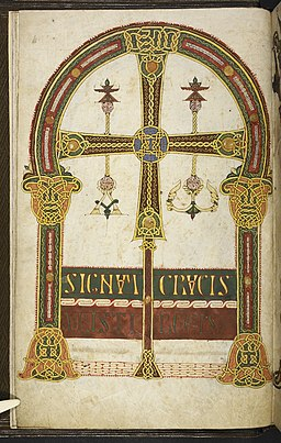 Silos Apocalypse - BL Add MS 11695 f. 003v - Oviedo cross