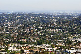 Silver Lake, Los Angeles - The hills of Silver Lake