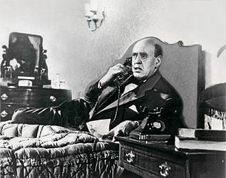Alastair Sim - As Hawkins, the incompetent assassin, in The Green Man, 1956