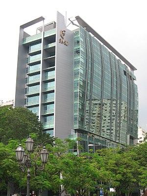 Singapore Management University - The Administration Block of the University