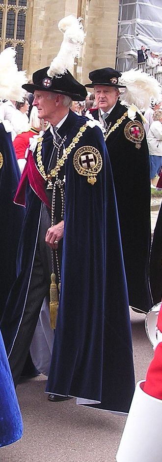 Antony Acland - Sir Antony Acland in the robes of a Knight Companion of the Order of the Garter