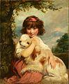 Sir Joshua Reynolds - A young girl and her dog.jpg