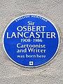 Sir OSBERT LANCASTER 1908-1986 Cartoonist and Writer was born here.jpg