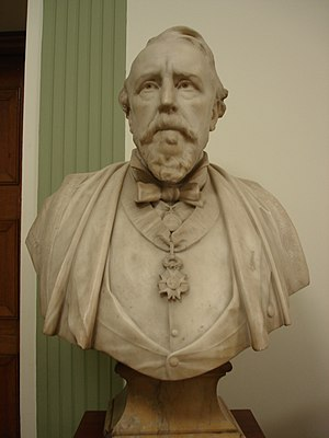William MacCormac - Bust of Sir William MacCormac by Alfred Drury