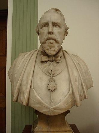 William MacCormac - Bust of Sir William MacCormac by Alfred Drury