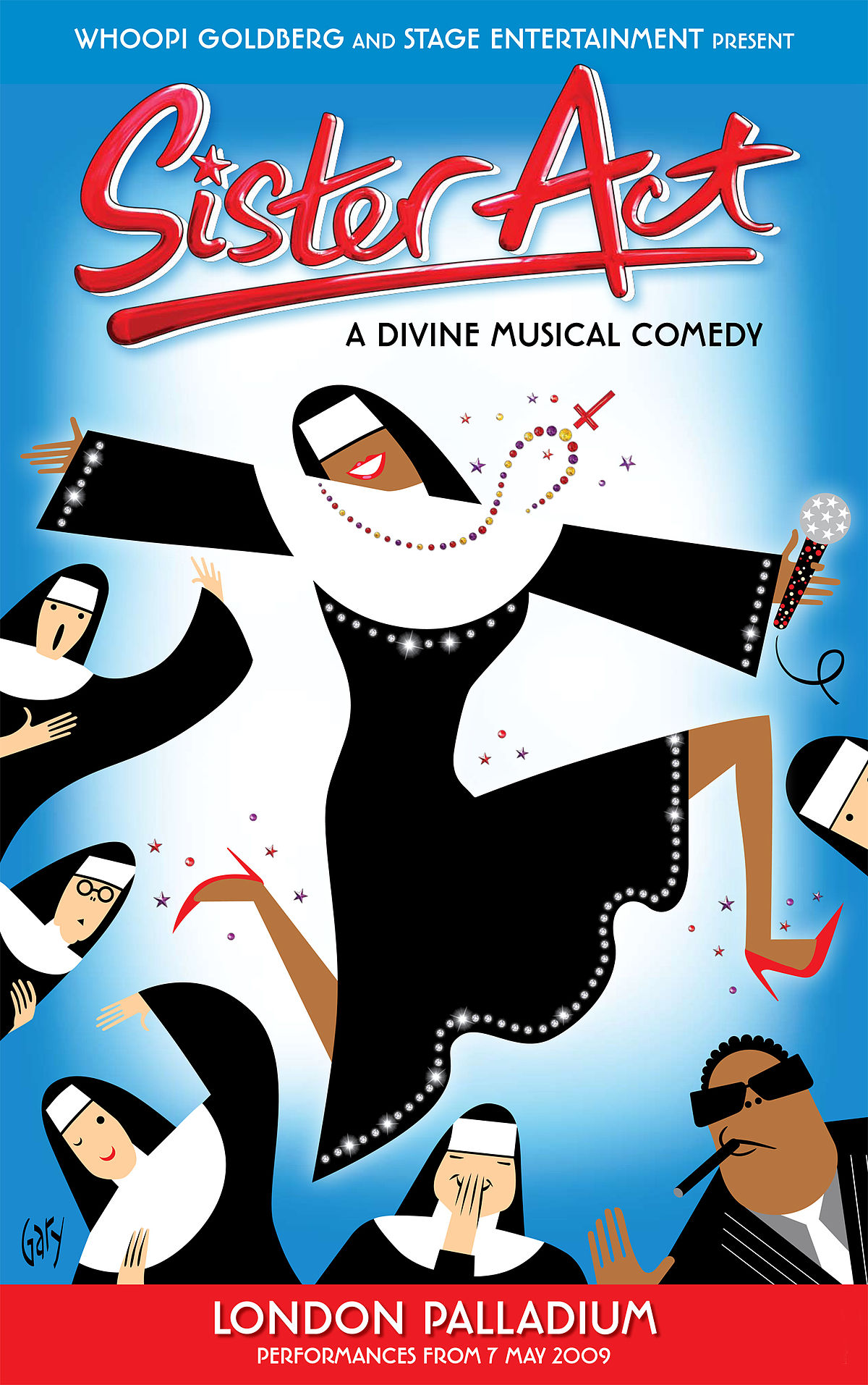 Almost Heaven 2010 sister act (musical) - wikipedia