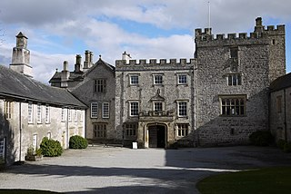 Sizergh Castle and Garden Grade I listed historic house museum in South Lakeland, United Kingdom
