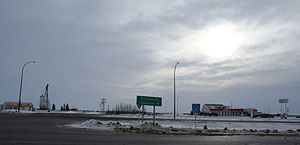 Saskatchewan Highway 41 - Hwy 41 ends the intersection with Hwy 5