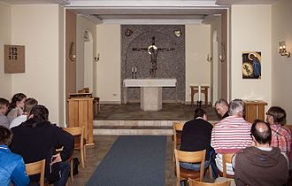 Church of Sweden Abroad - SKUT chapel in Rome, Italy.
