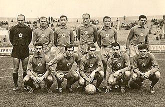 ŠK Slovan Bratislava - Slovan squad from 1963-64.