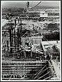 Sluisbouw te Tiel in Amsterdam-Rijnkanaal. De lengte van de sluis wordt 350 mete, Bestanddeelnr 123-1092.jpg