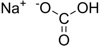 Sodium bicarbonate chemical compound