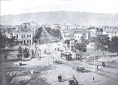 Sofia - Bulgaria - Lion's Bridge and the surrounding area in 1910.jpg