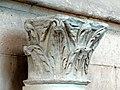 Soissons (02), musée municipal, chapiteau roman, provenant de l'église Saint-Yved de Braine 1.jpg