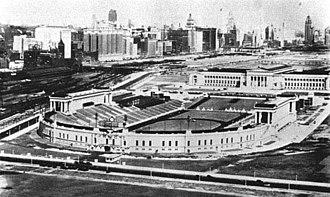 Horatio B. Hackett - Chicago's Soldier Field in 1932