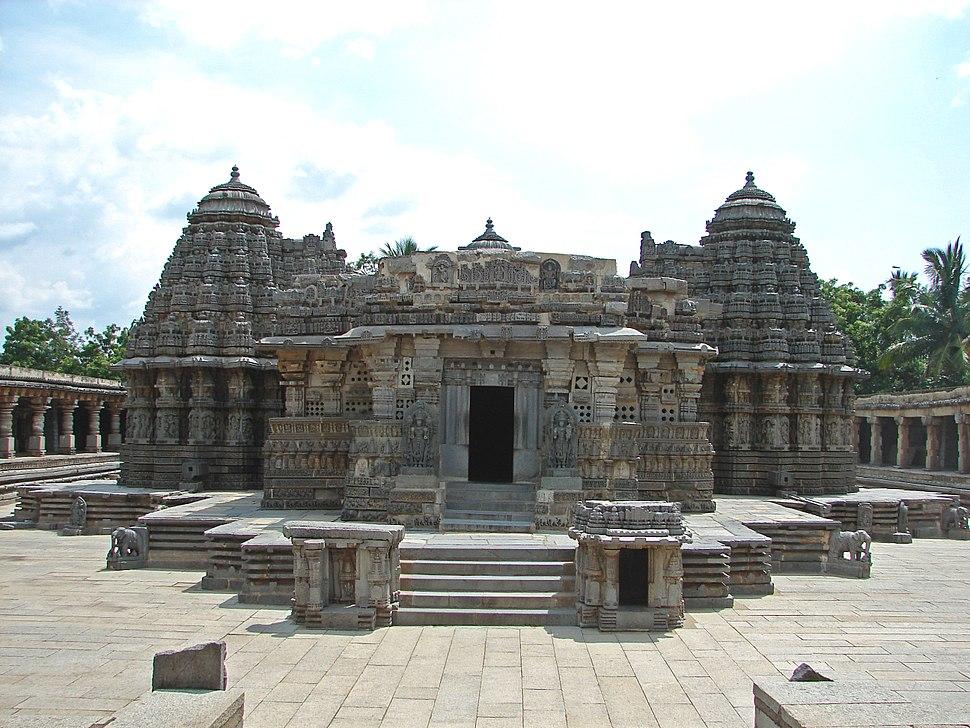 Somanathapura Keshava temple altered