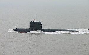 Type 039 submarine - Image: Song class Submarine 5