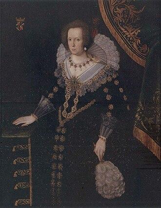 Sofia Gyllenhielm - Gyllenhielm as painted in the 1580s.