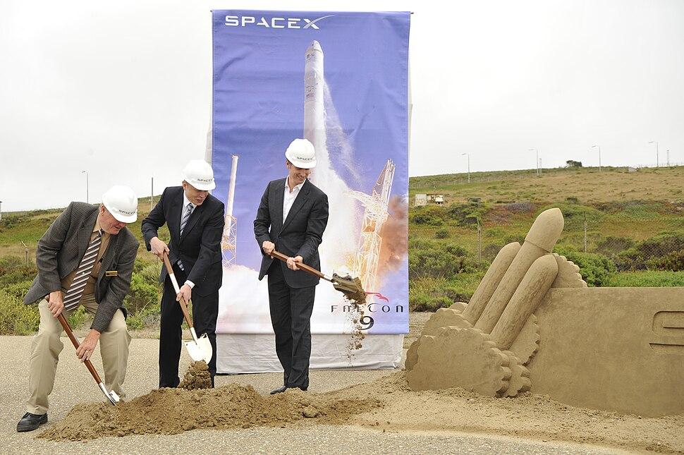 SpaceX breaks ground at Vandenberg Air Force Base