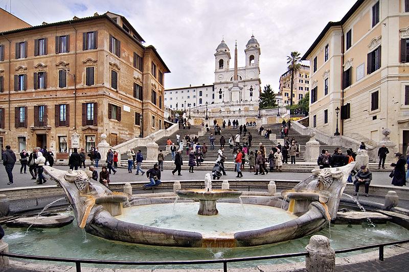 Place monumentale Place d'Espagne à Rome – Photo de 2pi.pl