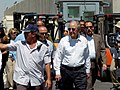 Special Envoy Mitchell Visits the Kerem Shalom Crossing (4748684325).jpg