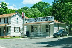 Spring Gap, Maryland - Image: Spring Gap Maryland Post Office