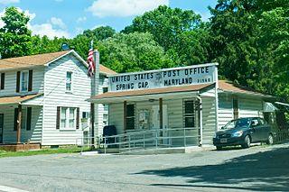 Spring Gap, Maryland Census-designated place in Maryland, United States