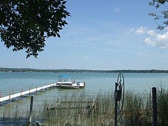 Springvale Township, Michigan - Crooked Lake