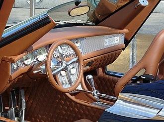 Spyker C8 - Image: Spyker C8 Interieur