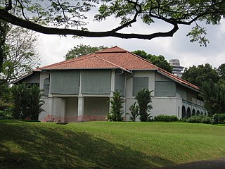 Sri Temasek official residence of the Prime Minister of Singapore, designated a national monument in 1992